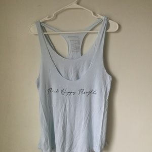 GoodHYouman THINK HAPPY THOUGHTS TANK Size XS